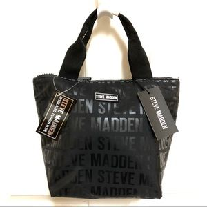 🖤NWT🖤 Steve Madden Insulated Lunch Tote BLACK